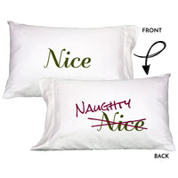 Faceplant Dreams Naughty Nice Pillowcase soft 100% cotton/1