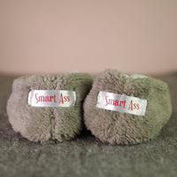 Smart Ass Footsies Slippers Grey Donkey