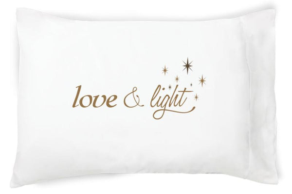 Faceplant Dreams Love and Light Pillowcase soft 100% cotton/1-NEW