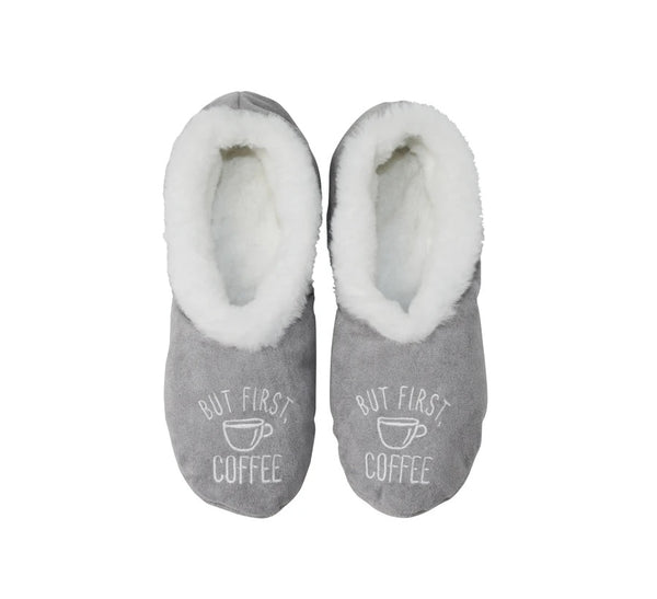 Faceplant Footsies, But Coffee First, Grey