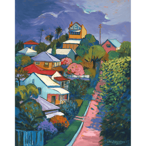 Passing Storm, Jay Street, Red Hill - Jan Jorgensen