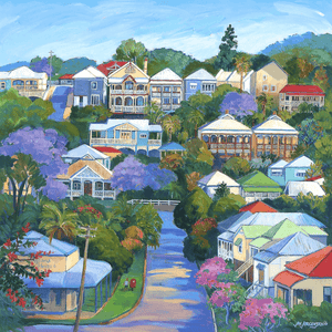 Splendid November, Lower Cairns Tce, Paddington - Jan Jorgensen