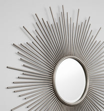Load image into Gallery viewer, Classic Starburst Antique Silver Mirror
