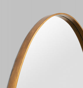 Grand Oval: Gold Mirror