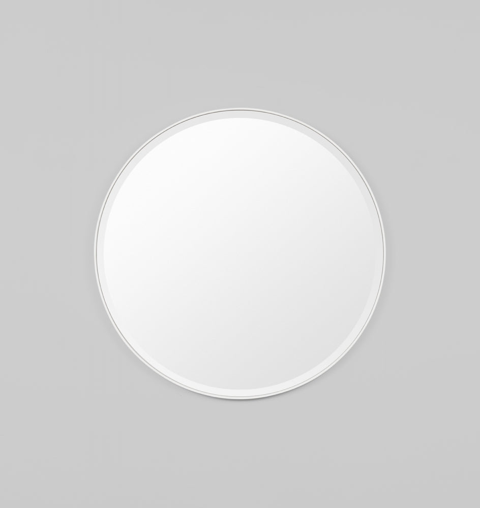 Lolita Round Bright White Mirror