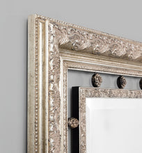 Load image into Gallery viewer, Neo Classical: Silver 113 x 138 cm Mirror