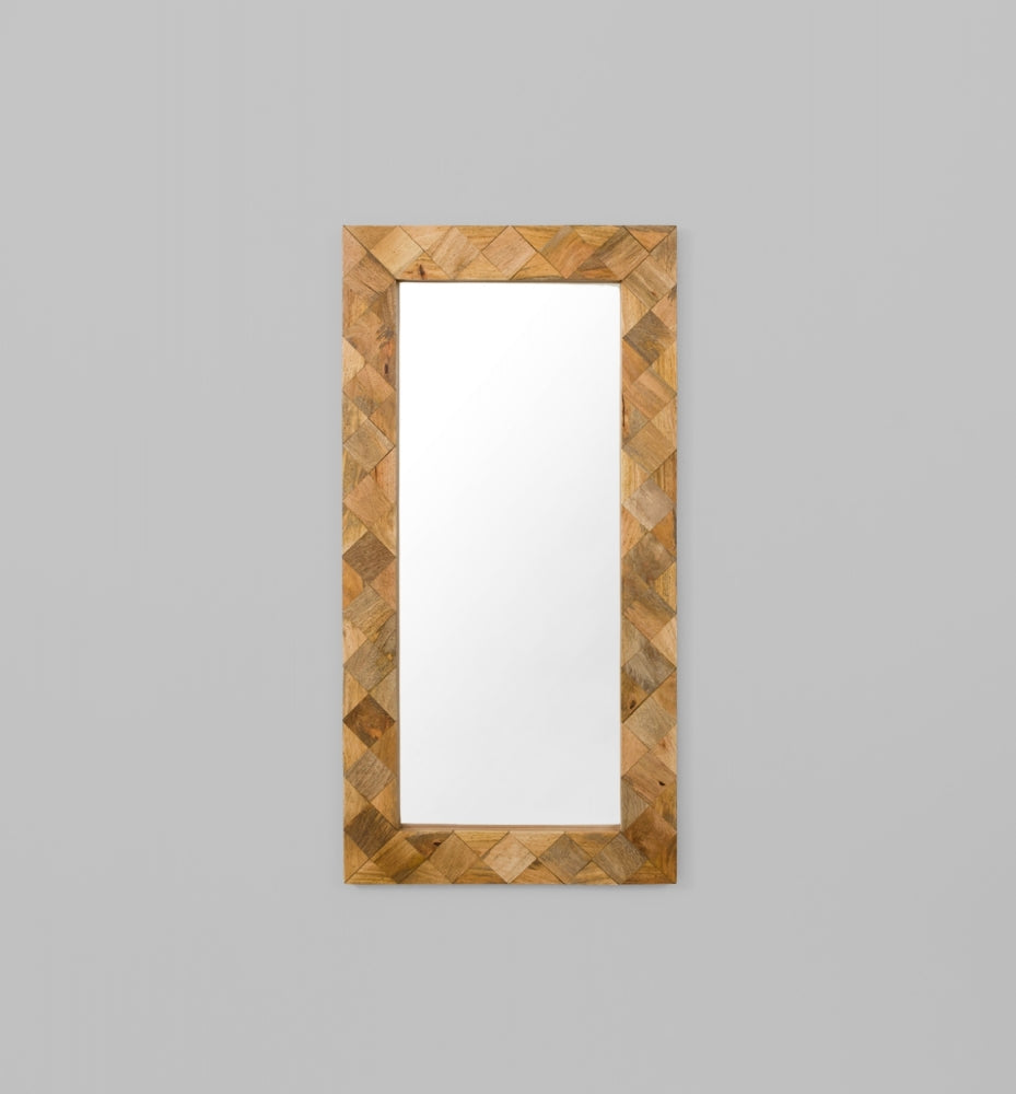 Diamond Checker Mirror