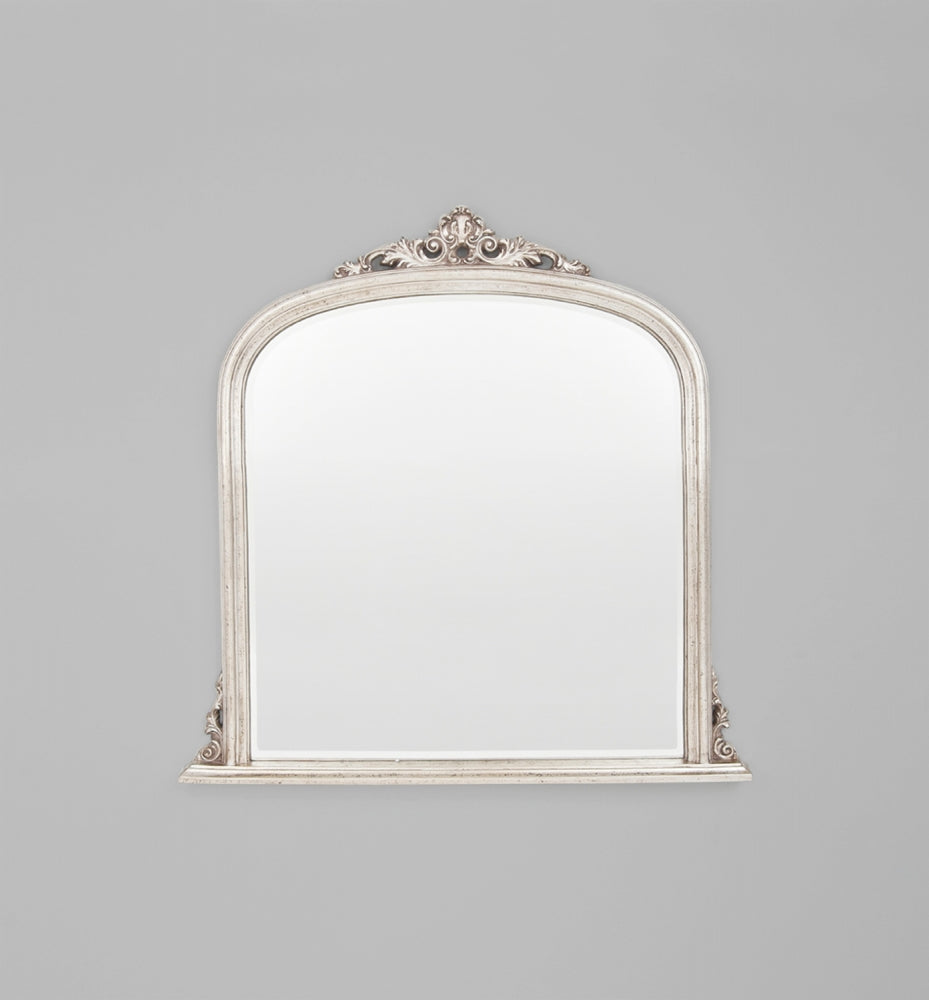 Domed: Silver 119 x 117 cm Mirror