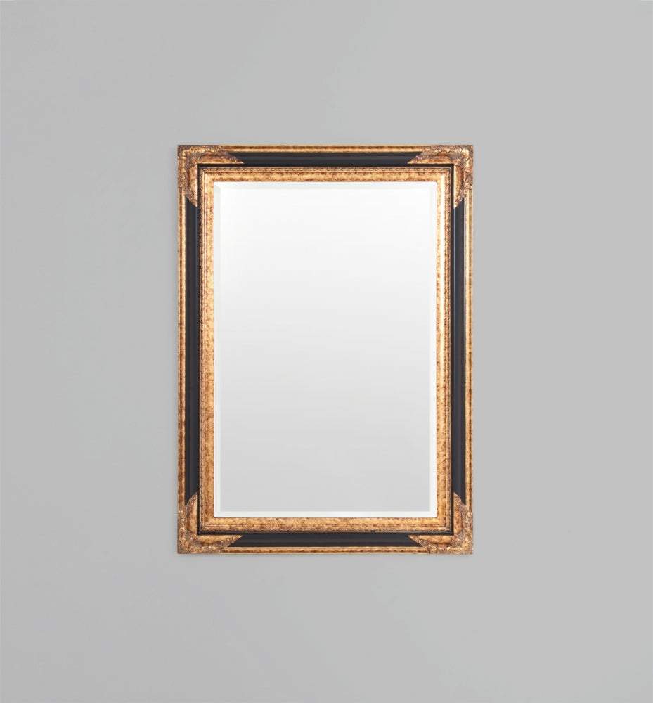 Florentine: Black/Gold 77 x 107 cm Mirror