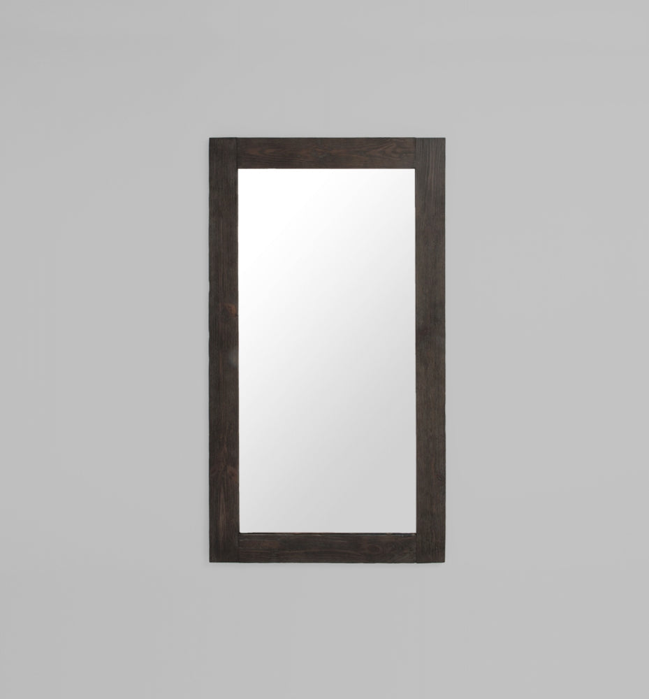 Rustic Timber Dark: 100 x 180 cm Mirror
