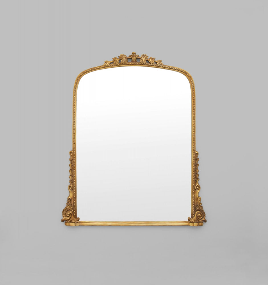Audrey Gold Medium Mirror