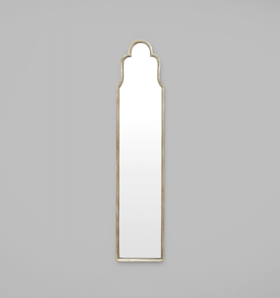 Giselle Standing Silver Mirror