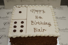 "Load image into Gallery viewer, Celebration - 10"" Domino Cake - Square"