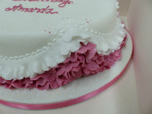 Frilled Celebration Cake