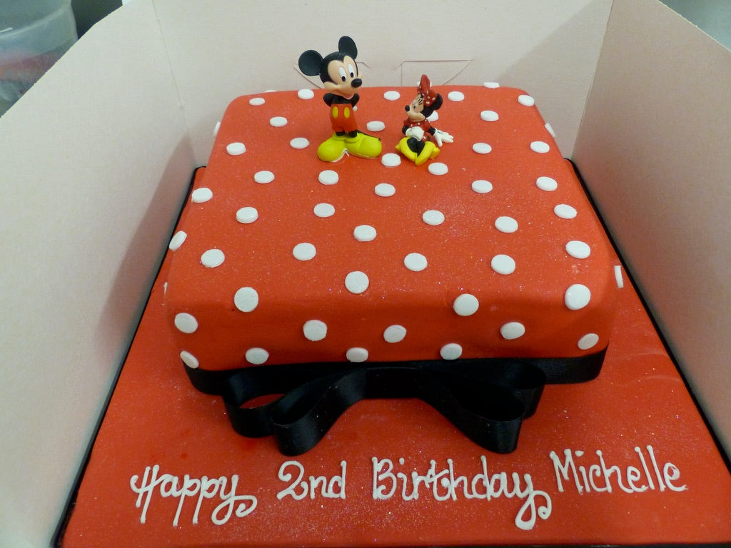 Celebration - Mickey and Minnie Mouse Cake
