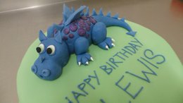 Dragon Celebration Cake