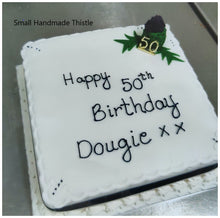Load image into Gallery viewer, Thistle Celebration Cake
