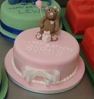 Teddy Bear Celebration Cake