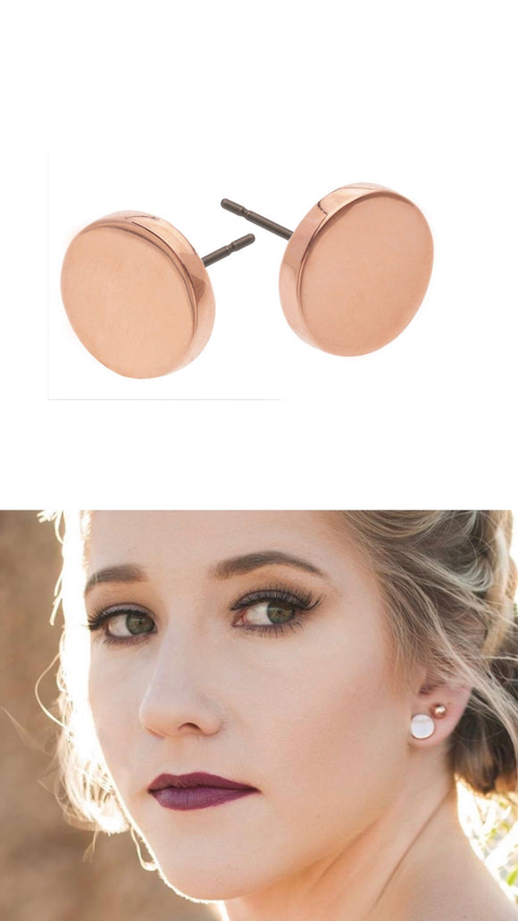 Liberte Ella Rose Gold Earring