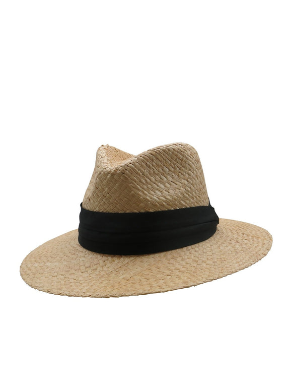 MORGAN & TAYLOR Winona Fedora Natural RE1171