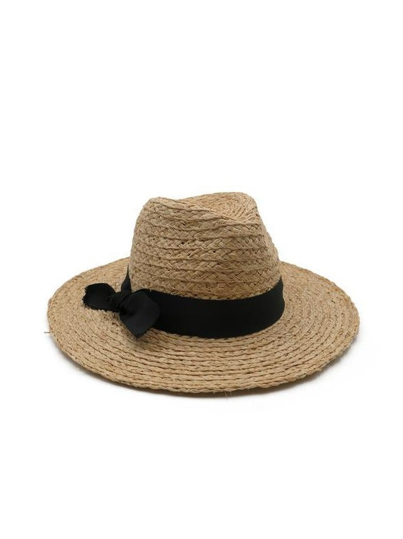 MORGAN & TAYLOR Aurelia Fedora Natural RE1173