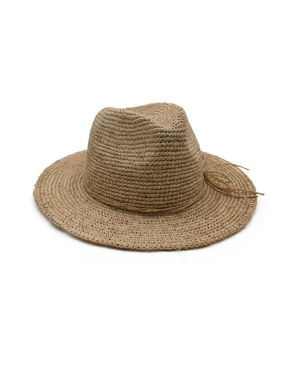 MORGAN & TAYLOR Julina Fedora Natural RE1180