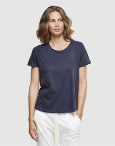 Cloth & Co  Short Sleeve Crew Tee French Navy