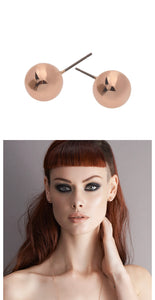 Liberte Tommy Rose Gold Earring