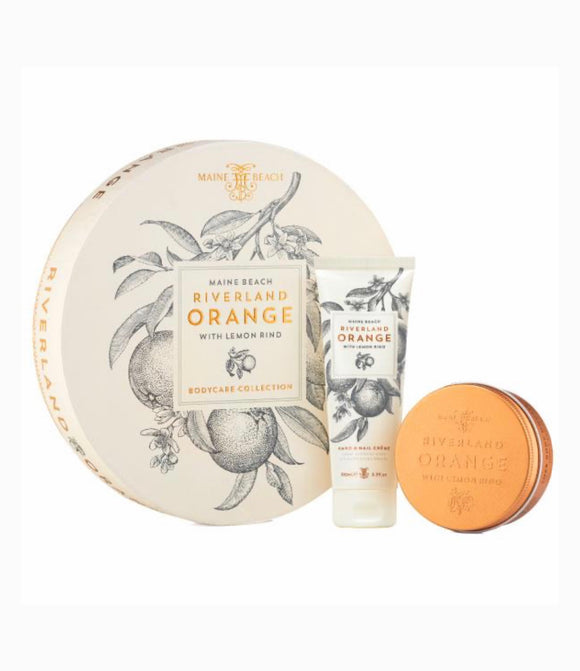 Riverland orangeBody care collection