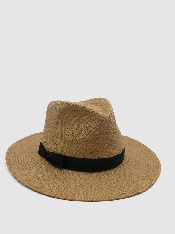 MORGAN & TAYLOR Livia Fedora Natural RE1151