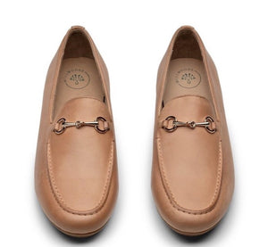 MILLWOODS Leather Loafer Tan