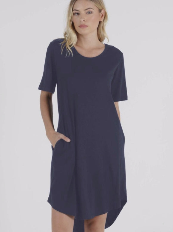 BETTY BASICS  Nyree Dress Indi Blue