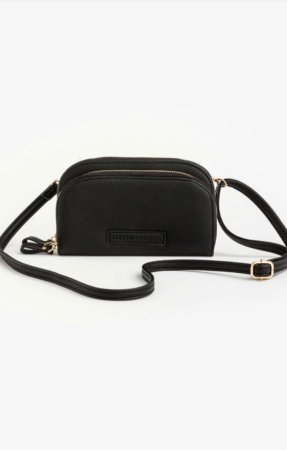 STELLA+GEMMA  Chloe duo phone wallet black