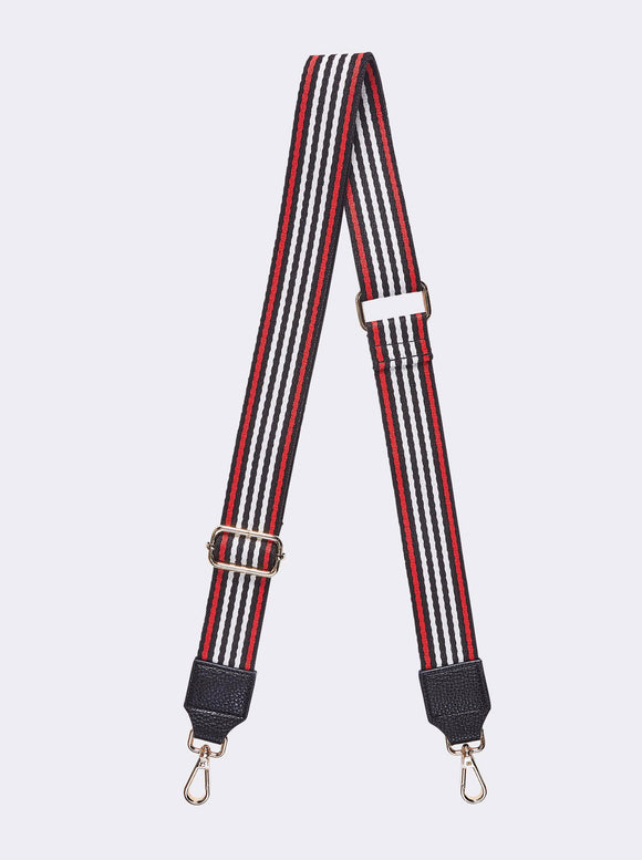Louenhide Gilly Guitar Strap Black and Red