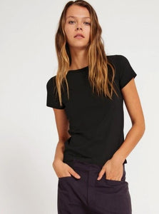 Morrison  Milo Short Sleeve Tee Black
