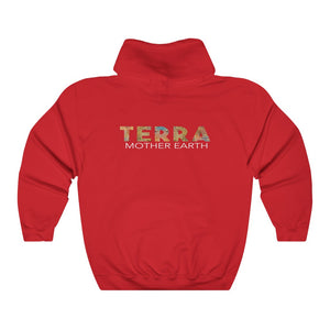 TERRA (Mother Earth) Unisex Hooded Sweatshirt