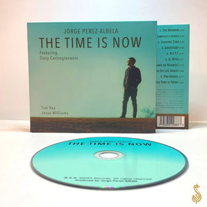 "Signed ""THE TIME IS NOW""  CD (Physical copy)"