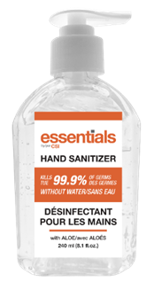 Hand Sanitizer - 240ml Bottles - Box of 12