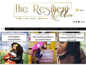 The Resilient Mum Website Header