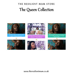 The Queen Wall Prints by The Resilient Mum.