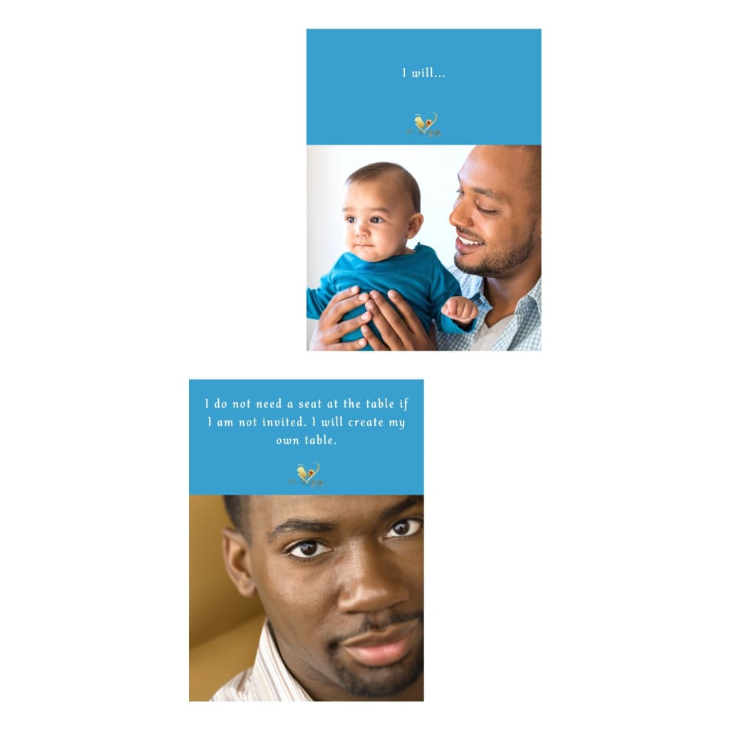 Affirmations for black fathers, The Resilient Mum.