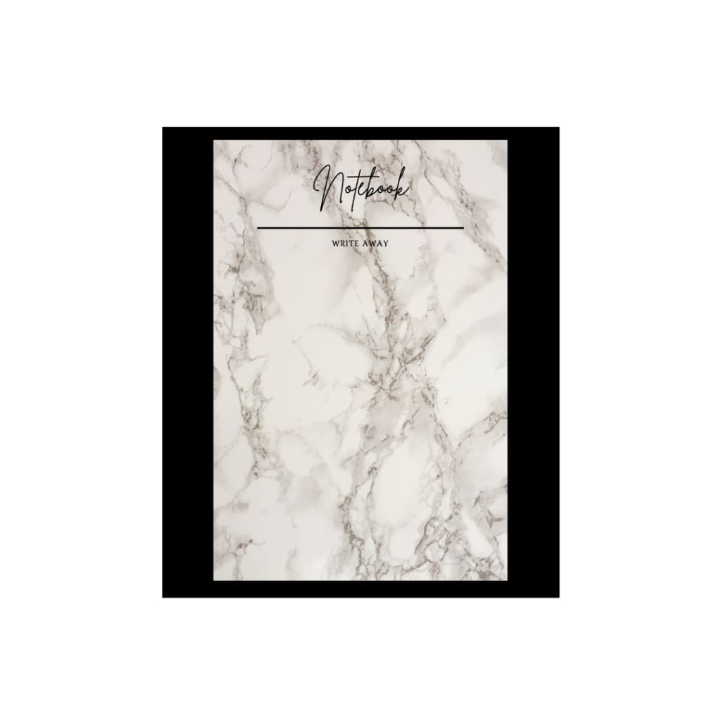 Marble Notebook by The Resilient Mum.