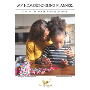 My Home Learning Planner By The Resilient Mum.