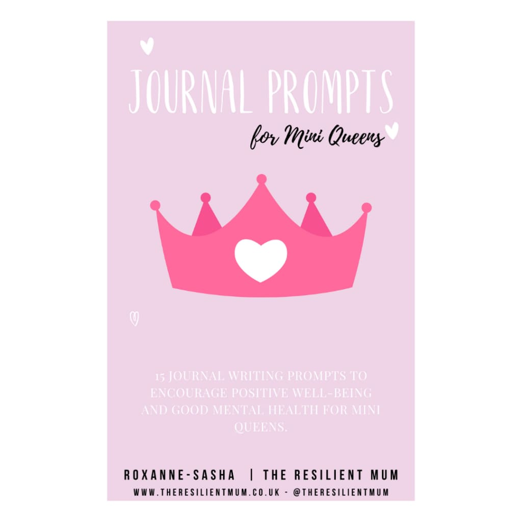 My Journal Prompts For Mini Queens - Digital