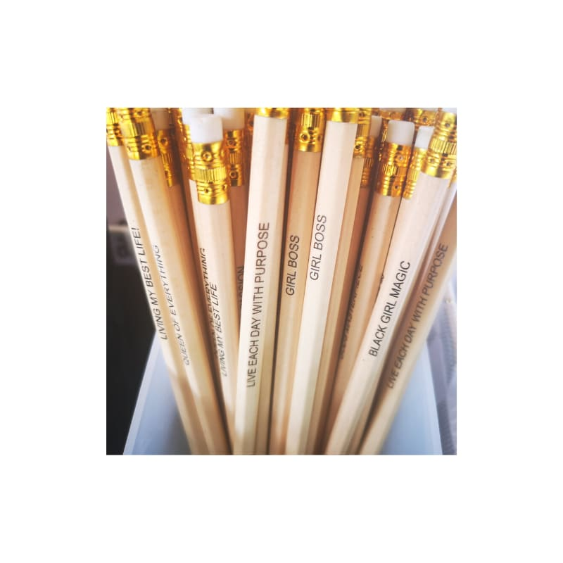 Affirmation Pencils created by The Resilient Mum