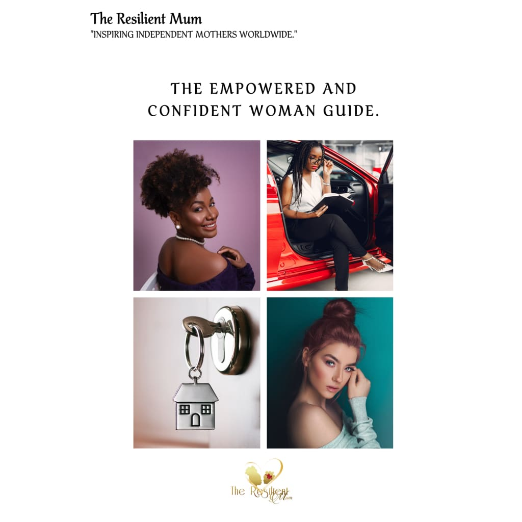 The Empowered And Confident Woman Guide by The Resilient Mum