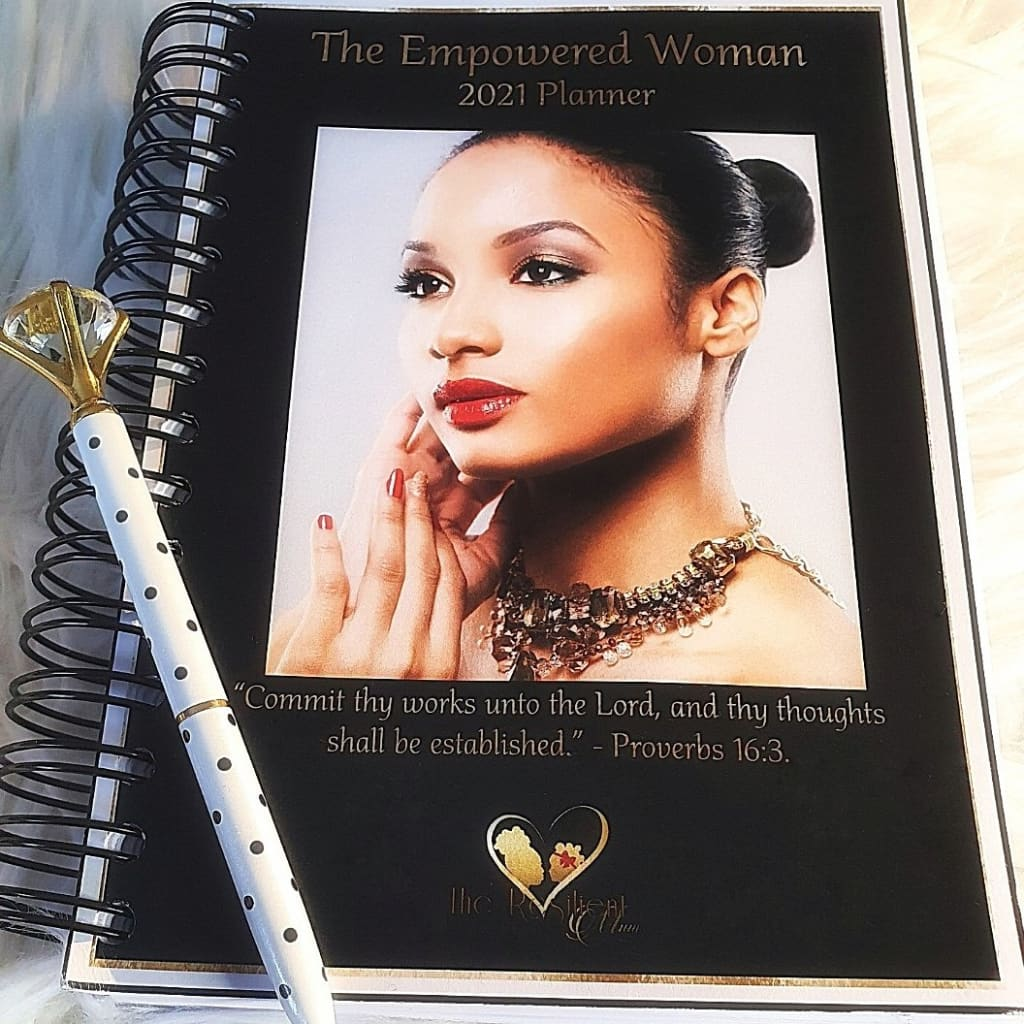 The Empowered Woman 2021 Planner - Planner