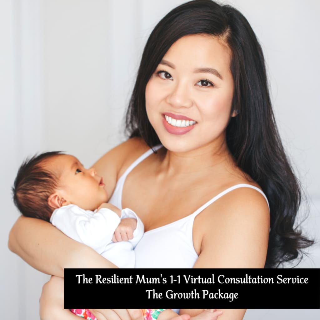 Asian Mother with baby, The Resilient Mum's Growth Package