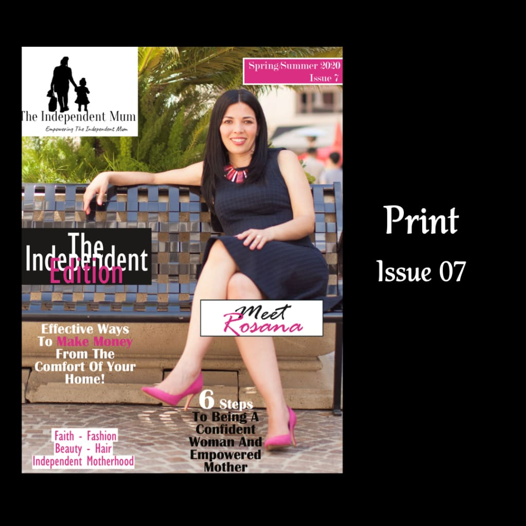 The Independent Mum Magazine, Issue 07 designed and created by The Resilient Mum