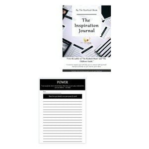 The Inspiration Journal For Women. Created and designed by Roxanne-Sasha | The Resilient Mum.
